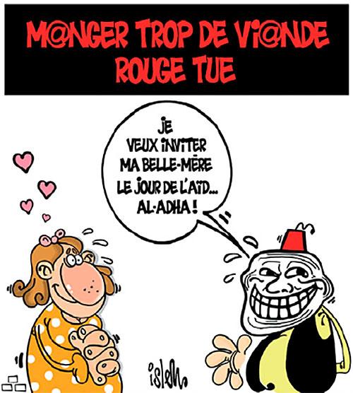 Manger trop de viande rouge tue - Islem - Le Temps d'Algérie - Gagdz.com