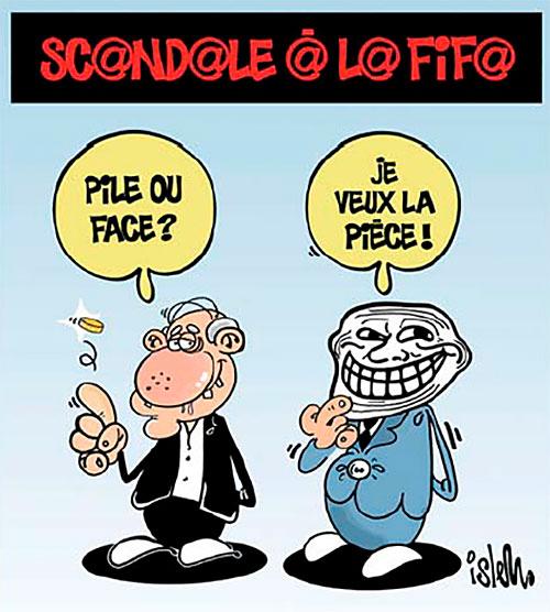 Scandale à la Fifa - Islem - Le Temps d'Algérie - Gagdz.com