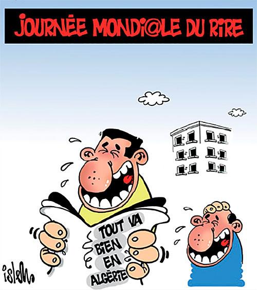 Journée mondiale du rire - Islem - Le Temps d'Algérie - Gagdz.com