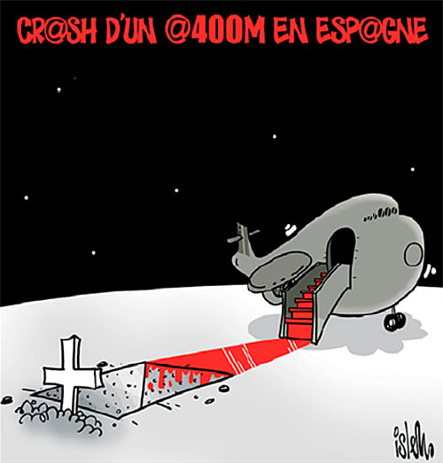Crash d'un A400M en Espagne - Crash - Gagdz.com
