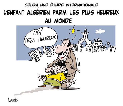 Selon une étude internationale: L'enfant algérien parmi les plus heureux au monde - Lounis Le jour d'Algérie - Gagdz.com