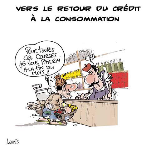 Vers le retour du crédit à la consommation - retour - Gagdz.com