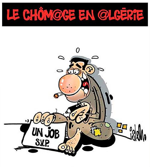 Le chômage en Algérie - Lounis Le jour d'Algérie - Gagdz.com