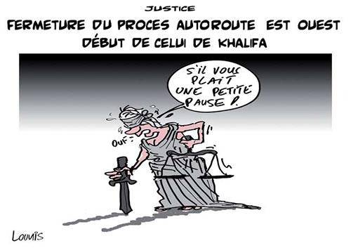 Justice: Fermeture du procès autoroute est ouest début de celui de Khalifa - Lounis Le jour d'Algérie - Gagdz.com