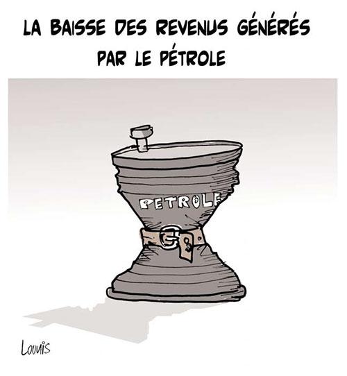 Baisse des revenus générés par le pétrole - Lounis Le jour d'Algérie - Gagdz.com