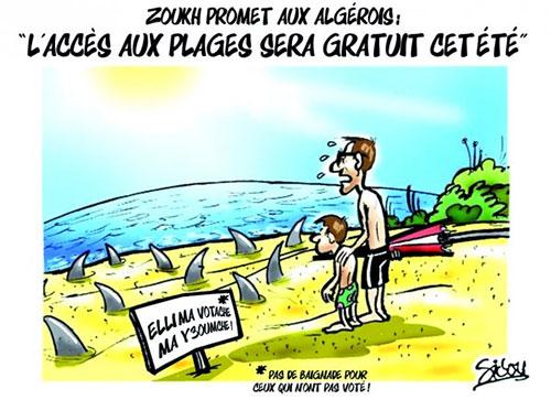 Zoukh promet aux algérois: L'accès aux plages sera gratuit cet été - Sidou - Gagdz.com