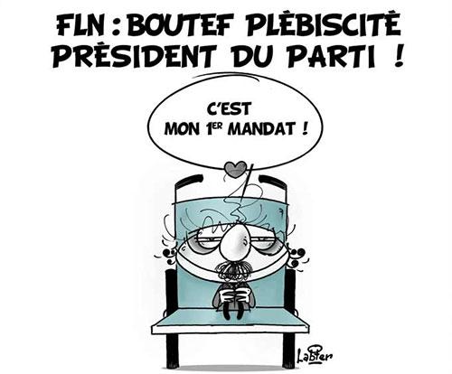 FLN: Boutef plébicité président du parti - Vitamine - Le Soir d'Algérie - Gagdz.com