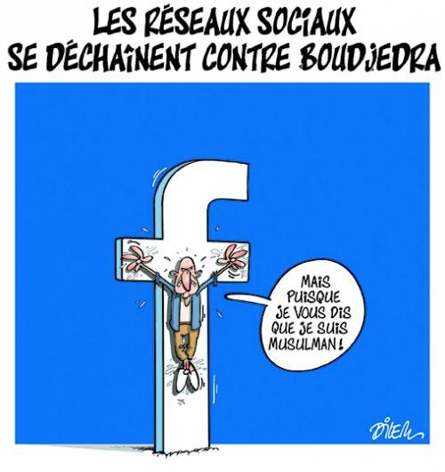 Les réseaux sociaux se déchainent contre Boudjedra - Dilem - Liberté - Gagdz.com