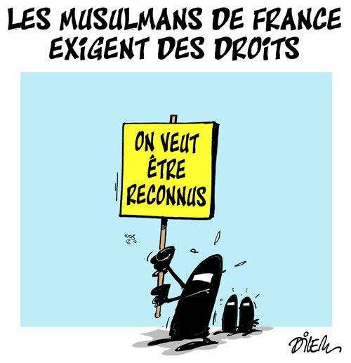 Les musulmans de France exigent des droits - Droits - Gagdz.com