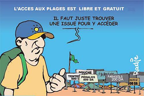 L'accès aux plages est libre et gratuit - libre - Gagdz.com
