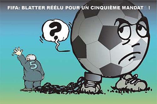 Fifa: Blatter réélu pour un cinquième mandat - Fifa - Gagdz.com