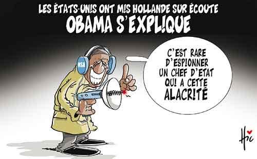 Les Etats-Unis ont mis Hollande sur écoute: Obama s'explique - Le Hic - El Watan - Gagdz.com