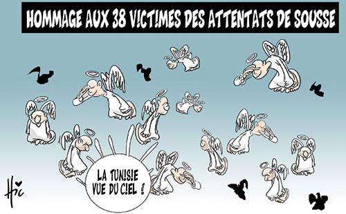 Hommage aux 38 victimes des attentats de Sousse - Le Hic - El Watan - Gagdz.com