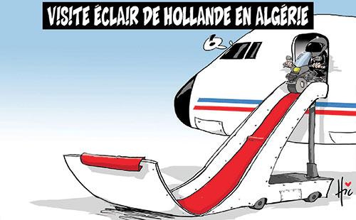 Visite éclair de Hollande en Algérie - Le Hic - El Watan - Gagdz.com