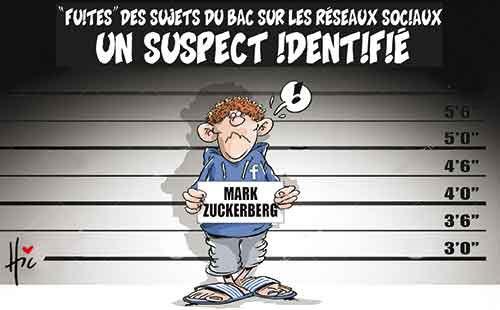 Fuites des sujets du bac sur les réseaux sociaux: Un suspect identifié - Le Hic - El Watan - Gagdz.com