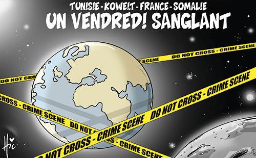 Tunisie-Koweit-France-Somalie: Un vendredi sanglant - vendredi - Gagdz.com
