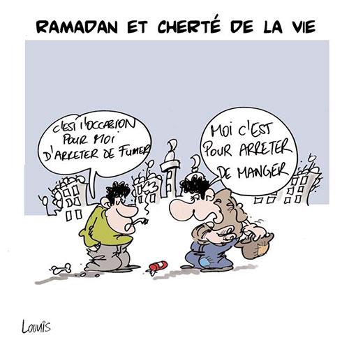 Ramadan et cherté de la vie - Lounis Le jour d'Algérie - Gagdz.com
