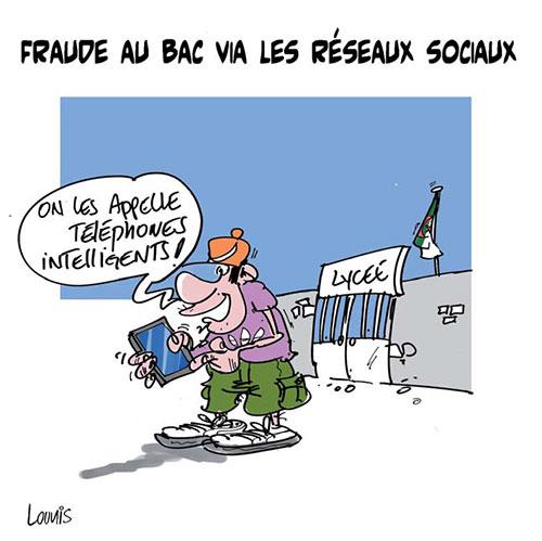 Fraude au bac via les réseaux sociaux - Lounis Le jour d'Algérie - Gagdz.com
