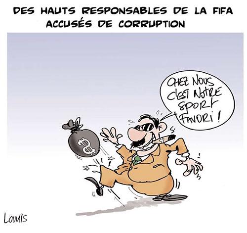 Des haut responsables de la Fifa accusés de corruption - Fifa - Gagdz.com