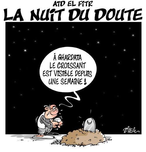 Aïd el fitr: La nuit du doute - Dilem - Liberté - Gagdz.com