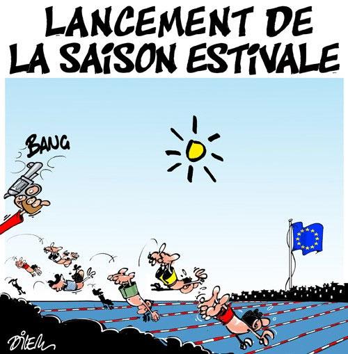 Lancement de la saison estivale - Dilem - Liberté - Gagdz.com