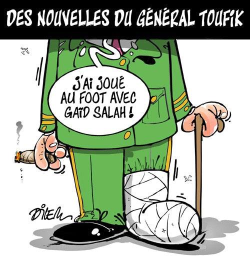 Des nouvelles fu général Toufik - Dilem - Liberté - Gagdz.com