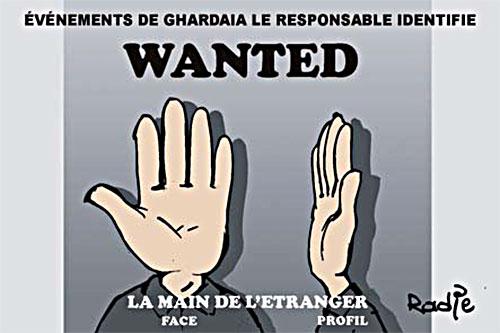 Evènements de Ghardaïa, le responsable identifié - Ghir Hak - Les Débats - Gagdz.com