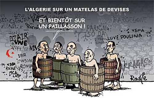 L'Algérie sur un matelas de devises - Ghir Hak - Les Débats - Gagdz.com