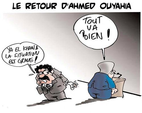Le retour d'Ahmed Ouyahia - retour - Gagdz.com