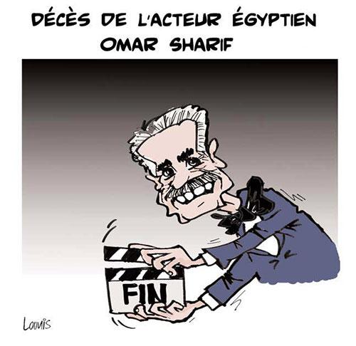 Décès de l'acteur égyptien Omar Sharif - Lounis Le jour d'Algérie - Gagdz.com