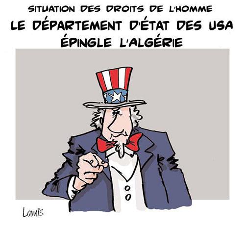 Situation des droits de l'homme: Le département d'état des USA épingle l'Algérie - Lounis Le jour d'Algérie - Gagdz.com