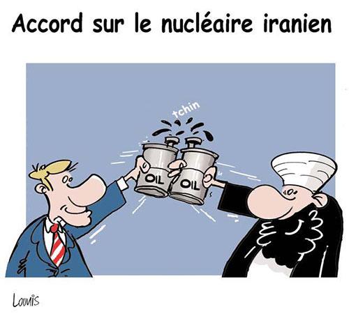 Accord sur le nucléaire iranien - Lounis Le jour d'Algérie - Gagdz.com