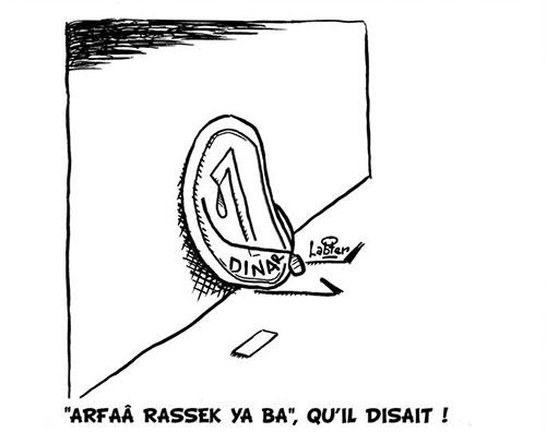 """""""Arfaâ rassek ya ba"""", qu'il disait - tagasupprimer - Gagdz.com"""