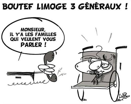 Boutef limoge 3 généraux - Vitamine - Le Soir d'Algérie - Gagdz.com