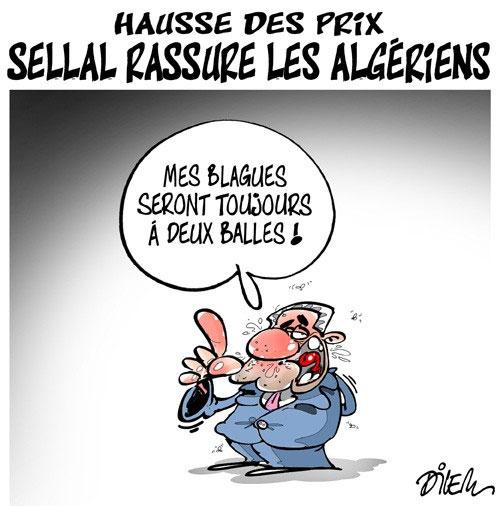 Hausse des prix: Sellal rassure les algériens - Dilem - Liberté - Gagdz.com