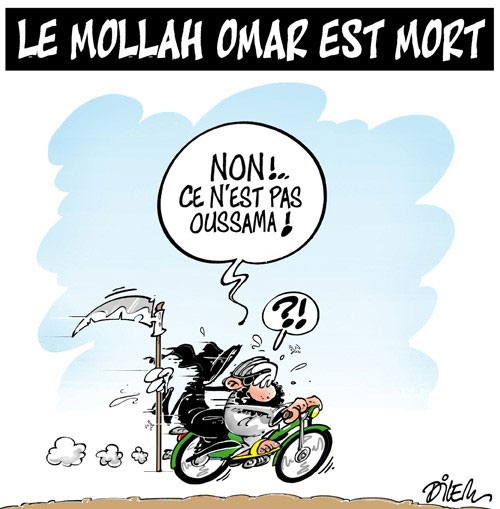 Le mollah Omar est mort - Dilem - Liberté - Gagdz.com