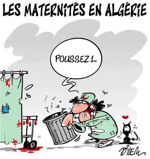 Les maternités en Algérie - Dilem - Liberté - Gagdz.com