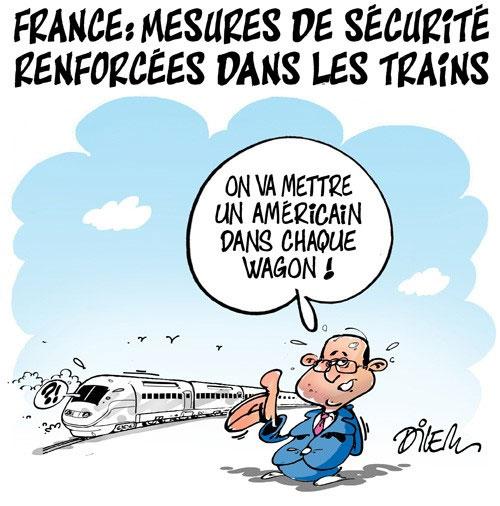 France: Mesures de sécurité renforcées dans les trains - sécurité - Gagdz.com