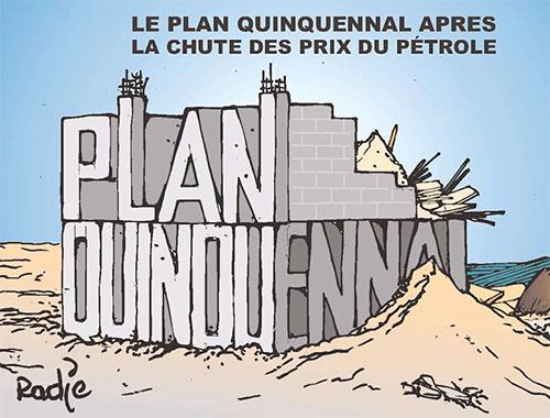 Le plan quinquennal après la chute des prix du pétrole - Ghir Hak - Les Débats - Gagdz.com