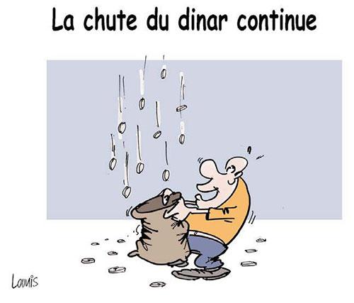 La chute du dinar continue - Lounis Le jour d'Algérie - Gagdz.com