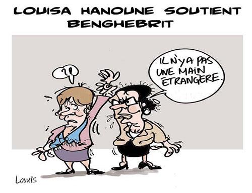 Louisa Hanoune soutient Benghebrit - Hanoune - Gagdz.com