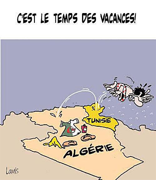 C'est le temps des vacances - Lounis Le jour d'Algérie - Gagdz.com