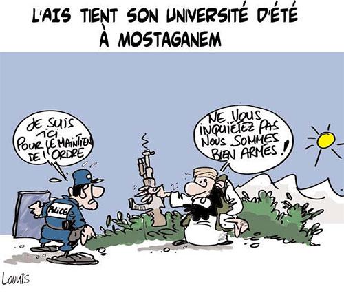 L'ais tient son université d'été à Mostaganem - Lounis Le jour d'Algérie - Gagdz.com