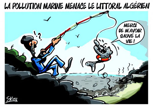 La pollution marine menace le littoral algérien - Sidou - Gagdz.com