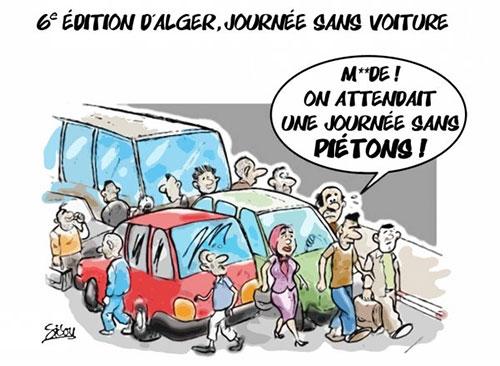 6e édition d'Alger, journée sans voiture - Sidou - Gagdz.com