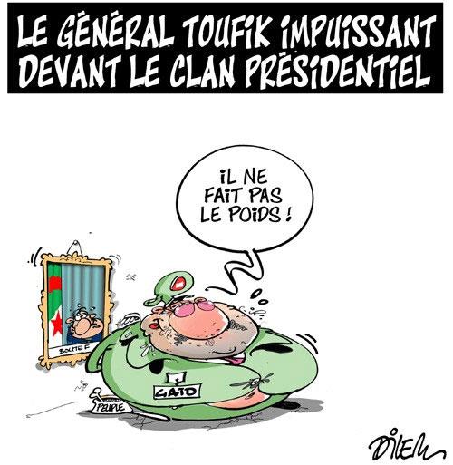 Le général Toufik impuissant devant le clan présidentiel - devant - Gagdz.com