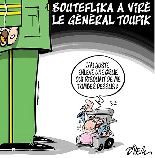 Bouteflika a viré le général Toufik - Dilem - Liberté - Gagdz.com