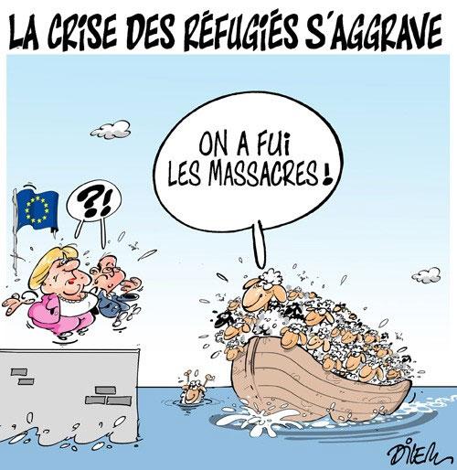La crise des réfugiés s'aggrave - réfugiers - Gagdz.com