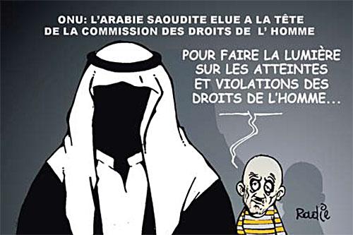 ONU: L'Arabie Saoudite élue à la tête de la commission des droits de l'homme - Ghir Hak - Les Débats - Gagdz.com