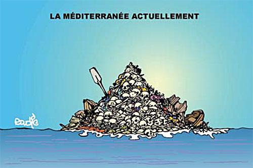 La méditerranée actuellement - Ghir Hak - Les Débats - Gagdz.com